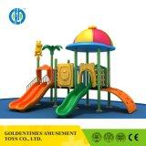 Оптовая торговля низкой цене цветные пластмассовые детей игровая площадка для установки вне помещений оборудование