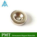 N45 de Magneet van de Zeldzame aarde van de Ring van D10*D3*3 met Magnetisch Materiaal NdFeB