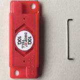 etiket van de Sticker van het Vervoer van de Schok van 50*20mm het Plastic