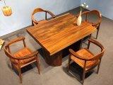 Novo Stylye sólido seco Definir Tabela de jantar em madeira