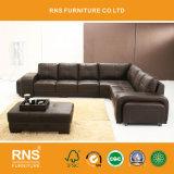 6047 Tamanho Grande Casa moderna sofá de couro