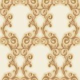De PVC de moderna decoración en relieve profundo papel tapiz con alta calidad