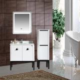 Governo di stanza da bagno moderno con stile del Governo di vanità del PVC dello specchio del LED nuovo