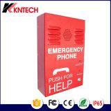 1개의 단추를 가진 손 자유로운 전화 비상사태 전화 Knzd-38