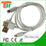 Cable de datos al por mayor del USB del teléfono de China para el cable de carga del iPhone, conector del cable C48 de Mfi