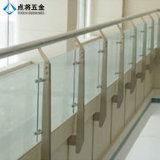 Pasamano de cristal modificado para requisitos particulares de la barandilla de acero decorativa al aire libre de Inox