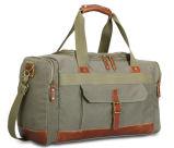Sac d'emballage d'homme de la toile de molleton de course d'armée de grande capacité de sac à main de seul paquet neuf vert d'épaule de sac des hommes fonctionnels de loisirs