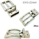 L'inarcamento di cinghia rovesciabile in lega di zinco di Pin dell'inarcamento del metallo di alta qualità per il vestito allaccia le borse dei pattini dell'indumento (XWS-ZD449)