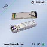 2.5GB/S 30dB LC DuplexCWDM 80km SFP Zendontvanger met Ddmi