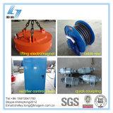 Elettro magnete di sollevamento circolare per gli scarti di sollevamento del carrello elevatore