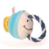 중국 공급자에게서 애완 동물을%s 최신 판매 견면 벨벳 물고기 장난감