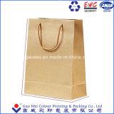 Sacchi di carta d'acquisto di acquisto della fabbrica dei sacchetti dei sacchi di carta diretti del Brown Kraft