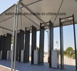 6 Zonas alarmante da estrutura da porta do Detector de Metal SA IIIC (SAFE HI-TEC)