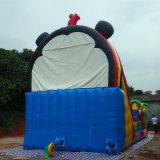 casa de salto del castillo de la historieta inflable barata comercial del precio de los 9*4*6m, castillo de salto inflable adulto