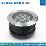 옥외 조경 LED 점화 12W LED 지하 빛