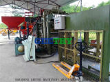 機械を作る煉瓦製造工場Qt4-15cのコンクリートブロック