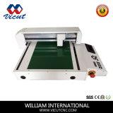 Máquina que corta con tintas plana de la tarjeta de papel
