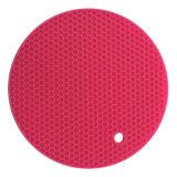 Держатель бака хмеля циновки силикона таблицы круглого круга Kitchenware Resisitant жары форменный