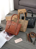 Classic Women Handbags PU Ladies Tote (WDL0975)