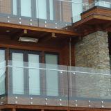 Frameless poco costoso /Balustrade di rotaia di vetro
