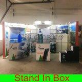 Cabine respectueuse de l'environnement modulaire portative personnalisée d'exposition pour l'exposition
