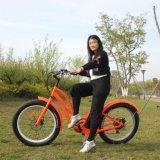 crucero para la venta, bicicleta eléctrica barata de la playa de la batería de litio 48V