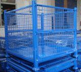Supporto d'impilamento pieghevole piegante della rete metallica del rullo di memoria del metallo del magazzino