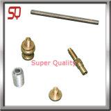 Pezzo meccanico del tornio di alluminio di CNC della parte di metallo