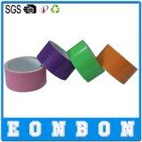 Cinta colorida adhesiva de la decoración del conducto del paño de las muestras libres