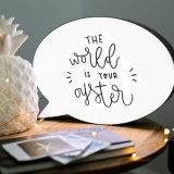 DIY рекламируя коробку пузыря СИД речи доски светлую