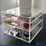 Boîte de rangement en acrylique cosmétique de la meilleure qualité