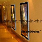 알루미늄 광고 Magentic 사진 프레임