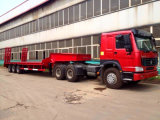 Helloo трейлера 3 Axles низкий кровати трейлер Semi 13 метра