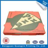 Papier coloré fait sur mesure de la Pizza Boîte en carton ondulé