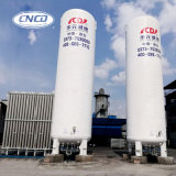 Sustentação vertical 5m3 do tanque de armazenamento criogênico do tanque do nitrogênio líquido, 0.8MPa