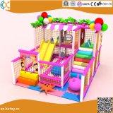 Park van de Structuur van de Speelplaats van kinderen het Binnen met de Pool van de Trampoline en van de Bal