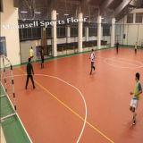 Rolo de alta qualidade e chão de desporto de intertravamento para o Tribunal de futebol