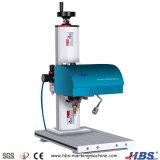 Marquage du métal de la plaque signalétique de la machine pneumatique