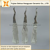 Hight Capの雪Series Tall Ceramicサンタクロース