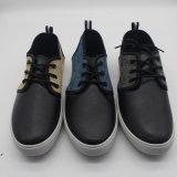 Высокое качество повседневная обувь для мужчин PU с Canvas