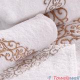 習慣によって刺繍される個人化された表面タオル