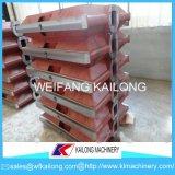 Planta de fabricación del precio bajo caja de moldeo usada para la fundición