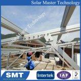 Structure de fixation du panneau solaire en aluminium