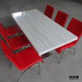 Table de cuisine en pierre artificielle de meubles de restaurant