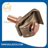 Abrazadera de tierra de bronce del molde para el rango 10 - 4 del alambre