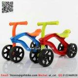 A mini bicicleta plástica da bicicleta do balanço das crianças caçoa o ciclo