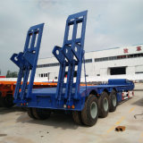 3 Eixo 60ton Lowbed semi reboque Carreta Use