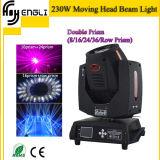 tête mobile de faisceau de 230W 7r pour la lumière de disco (HL-230BM)