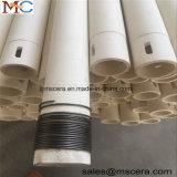 Hitzebeständiges Rohr-keramische Zylinder-Zwischenlage der Tonerde-99.5% Al2O3