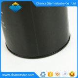 Kundenspezifisches Pappgefäß-Braunes Packpapier kann mit Zinn-Kappe